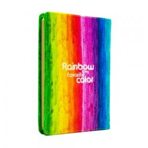 دفتر یادداشت رنگین کمان