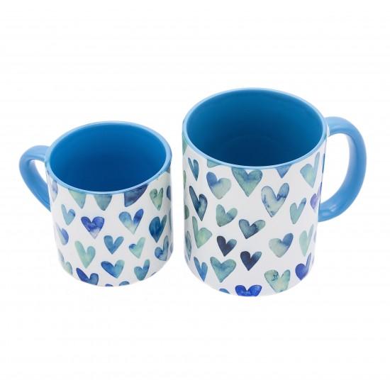 سِت ماگ و مینیماگ عشق آبی